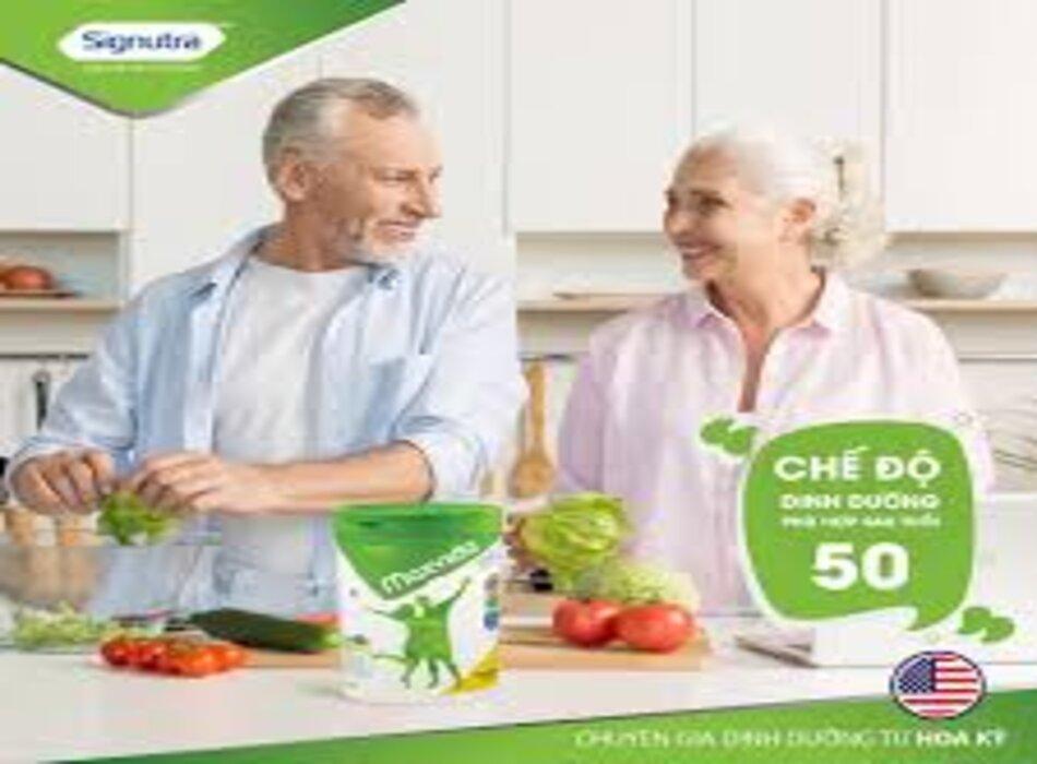 Sữa Maxvida cung cấp dinh dưỡng cân bằng cho người cao tuổi