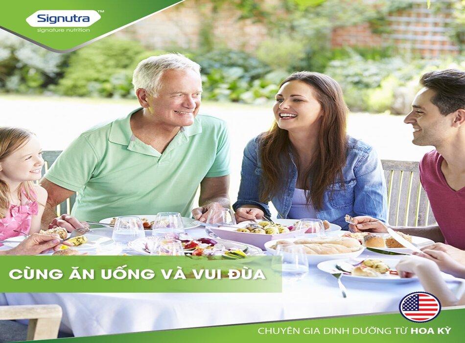 Mỗi ngày 2 ly sữa Maxvida cung cấp dinh dưỡng cân bằng, chăm sóc sức khoẻn người cao tuổi tốt hơn