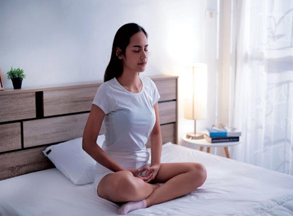 Thư giãn, loại bỏ căng thẳng trước khi ngủ để chữa bệnh mất ngủ