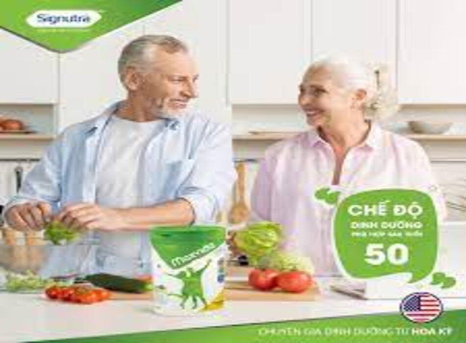 Uống sữa Maxvida đúng cách rất tốt cho sức khỏe người cao tuổi