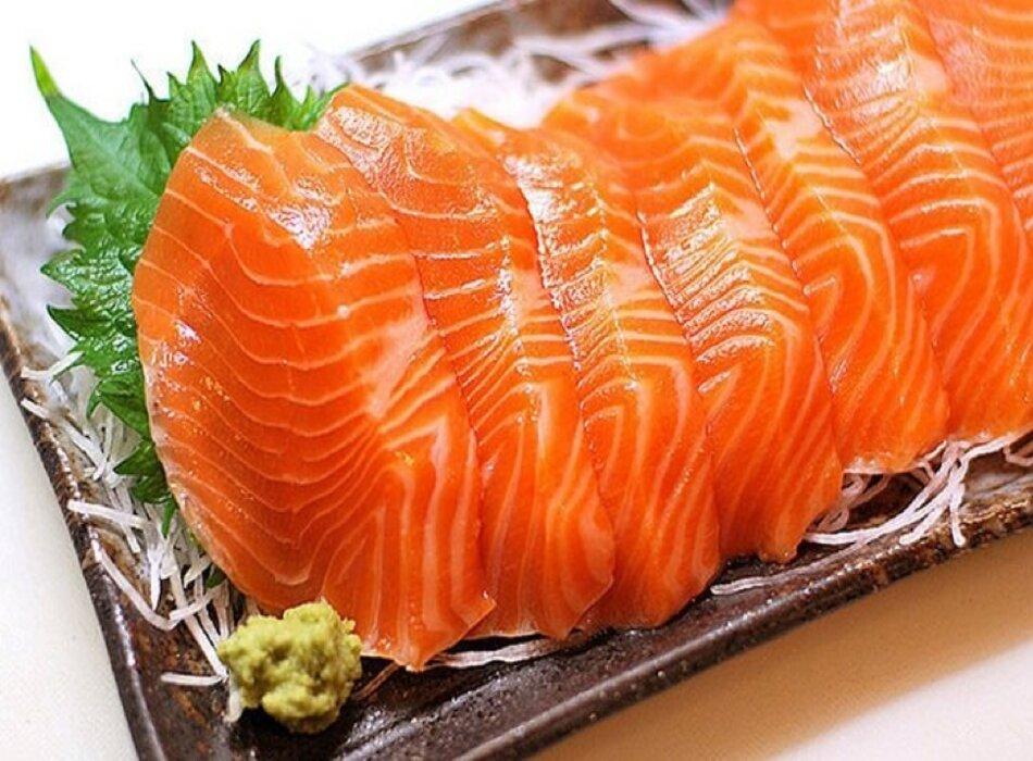 Cá hồi - thực phẩm giàu Omega 3
