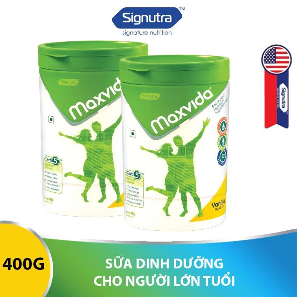 Maxvida là sữa bổ sung dinh dưỡng cân bằng cho người lớn tuổi và người bệnh với hệ đạm kép chất lượng cao PDCAAS = 1.