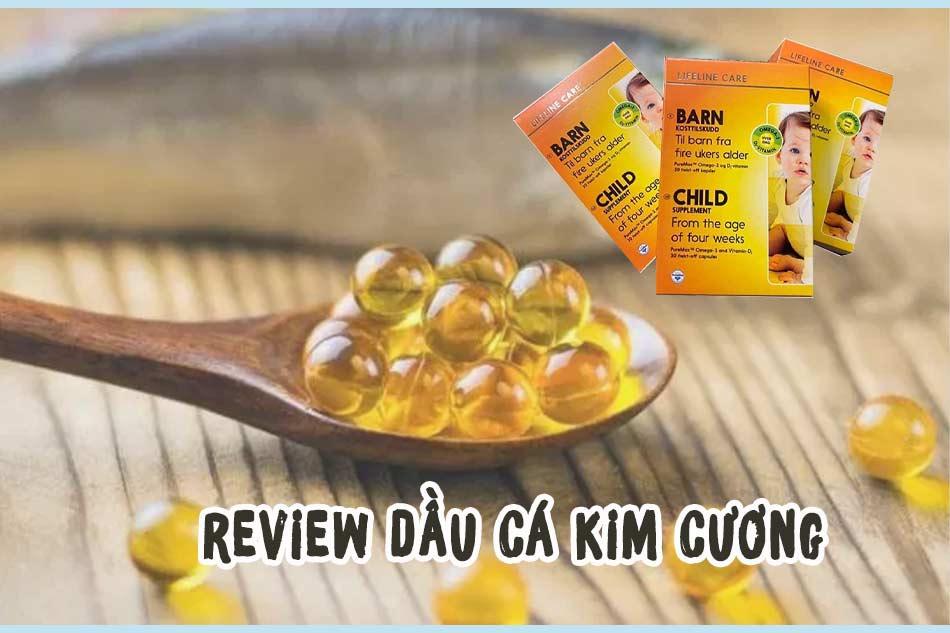 Review Dầu cá Kim Cương